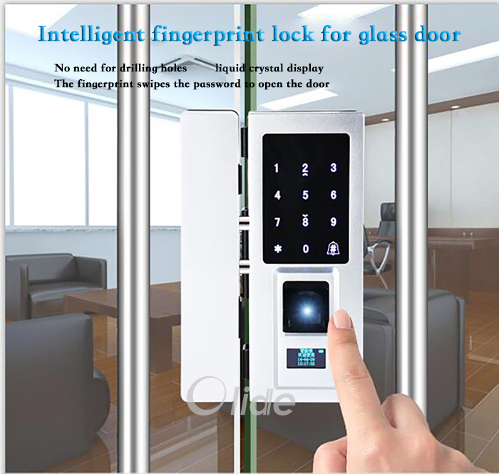 Fingerprint Door Lock Digital Password Key Rfid Card Access Control