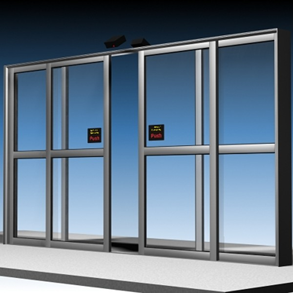 How to reduce noise of an automatic sliding door olide