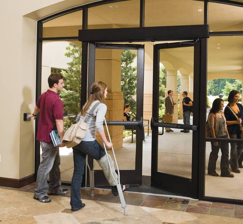 Automatic handicap door is the best choice for