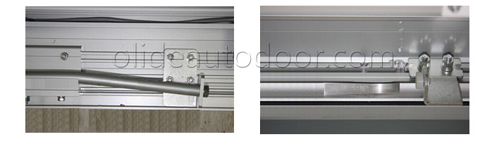 Olide air tight door guide rail use unique technology which makes door completely sealed when door closed. Guide rail from other suppliers design gap & Hermetically Sealed Sliding Door - Olide autodoor