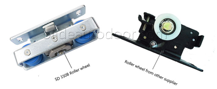 Power sliding doors opener sd150b roller wheel