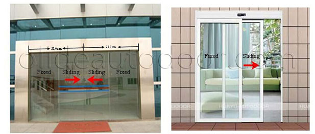 Automatic Sliding Door Mechanism Style