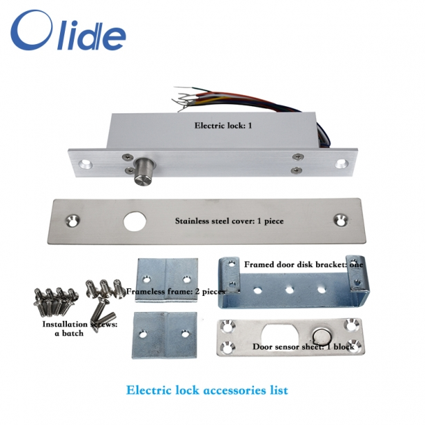 DC12V/DC24V Door Electric Lock For Access Control System Lock Delay Time Is Adjustable,Auto Door Electric Lock