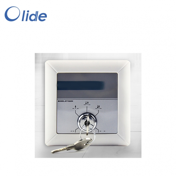 Automatic Door Five Position Key Switch,Autodoor Operation Five Function Selection Switch,Knob Type ABS Plastic