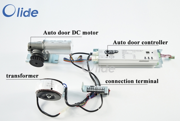 Heavy Duty Automatic Door Controller, Motor, Power Terminal, Transformer SD280 Kit