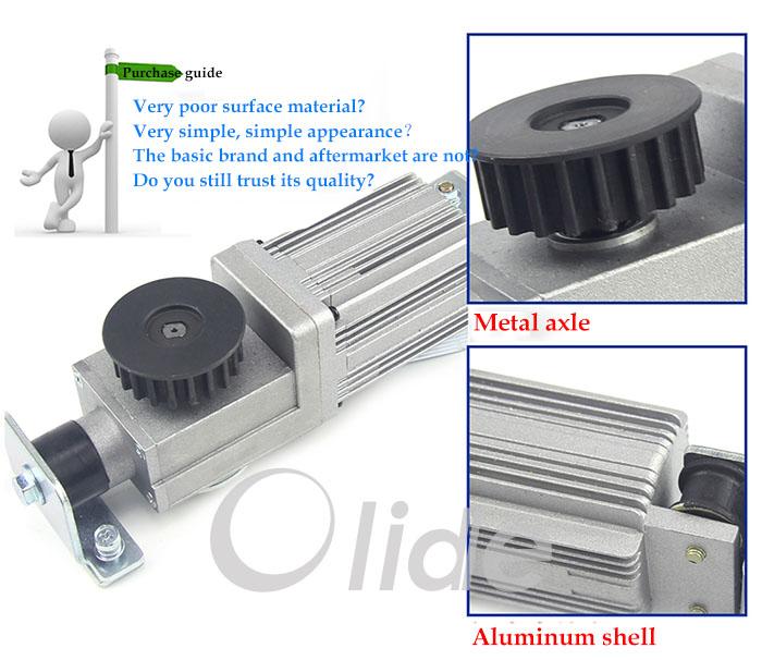 Aluminum Alloy Dc24v Brushless Motor Automatic Sliding
