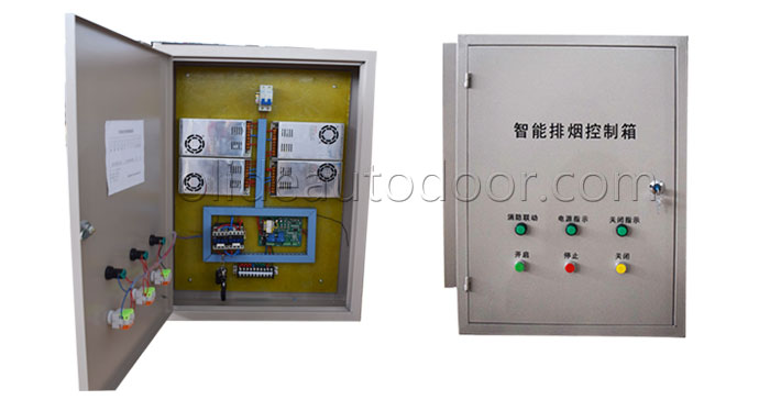 Electric windows opener Centralized controller
