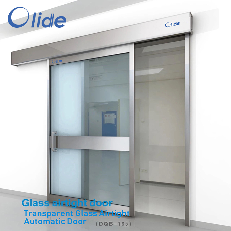 Transparent Glass Airtight Automatic Door DQB-165