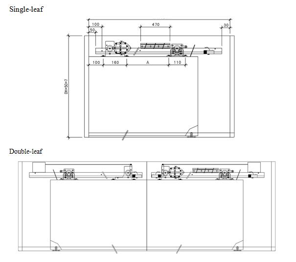 Semi Automatic Sliding Door Opener Olide Autodoor