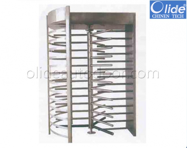 Full height turnstile for access control